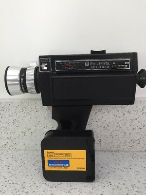Vintage Bell And Howell Autoload Focus-Matic Super 8 Video Camera And Film