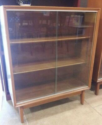 Good Quality Minty Of Oxford Bookcase With Sliding Doors & Adjustable Shelves