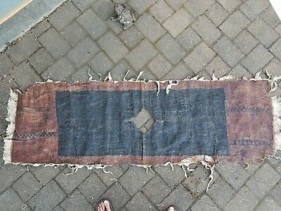 o) Vintage Polynesian South Pacific ?? Tapa Bark Cloth Poncho ?