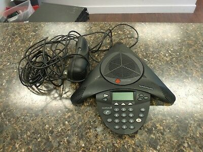 Polycom SoundStation 2  Display Conference Phone w/ Wall Module NICE COND  #4so