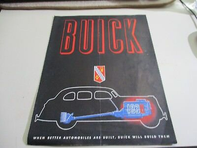 1938 Buick Series 80 Roadmaster, 60 Century, 90 Limited, 40 Special Brochure