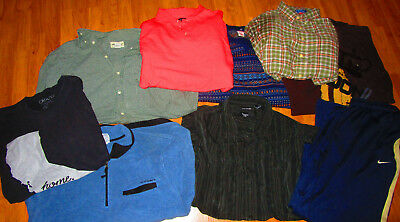 Lot Of 8 Brand Name Mens Mixed Clothes Size 2XX XXL Eddie Bauer Haggar