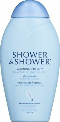 SHOWER TO SHOWER Absorbent Body Powder Morning Fresh 8 OZ