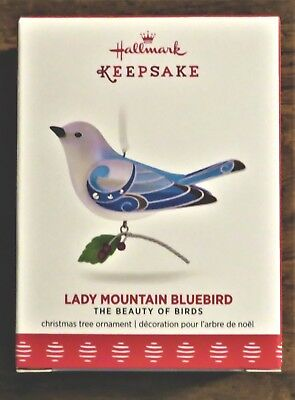 Hallmark Keepsake Lady Mountain Blue Bird Limited Ornament 2017 New In Box