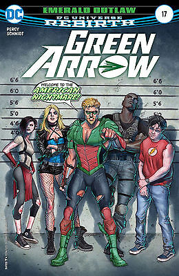 Green Arrow #17 DC Rebirth 2017 Regular Cover First Print HOT!