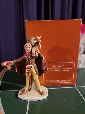 "Norman rockwell figurines ""Tiny Tim"""