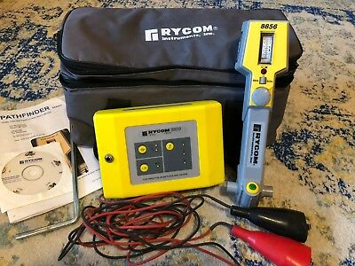 Rycom Underground Cable Pipe Line Locator 8856 / 8859 Pathfinder works SEE VIDEO