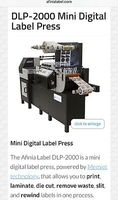 Digital Mini Label Press AFINIA DLP2000