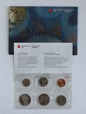 1999 Canada Plated Test Token Coin Set RCM Royal Canadian Mint