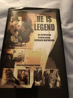 He is Legend by Richard Matheson (Limited Edition) Signed PC Copy — No slipcase