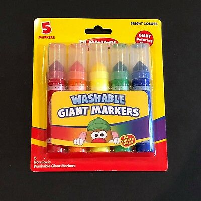 Playskool Washable Giant Markers 5 count