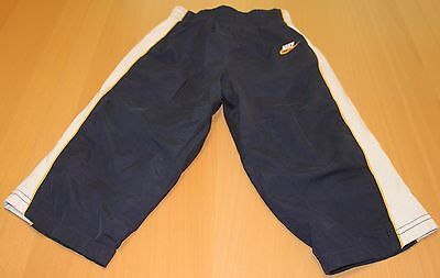 Nike Boy's Athletic Pants 24 Months, Lined Warm Ups, Navy Blue, Great Condition