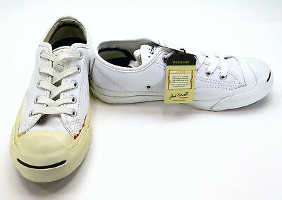 ebd7569b6dd9 CONVERSE JACK PURCELL Tumbled Leather-Womens  6 Men s 4.5 -  4.99 ...