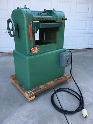 """PLANER Powermatic Model 100 -12""""  2 HP Single Phase, 220v.  Includes knives."""