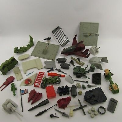 GI Joe Lot of Vintage Action Figure Accessories Assorted Collection Weapons