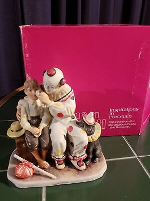 "Norman rockwell figurines ""The Runaway"""
