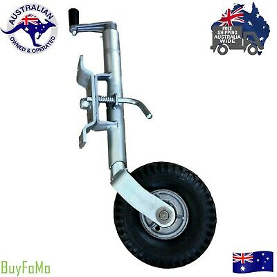 Heavy Duty Jockey Wheel NZ Made Boat / Camper Trailers / Caravan, Swing up Style