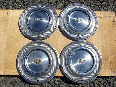 "1974 Chrysler 15"" Hubcaps 1973 1975 1976 1977 1978 New Yorker Town And Country"