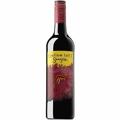 Yellow Tail Sangria Red Wine NV (12x750ml) Fast & Free Shipping!