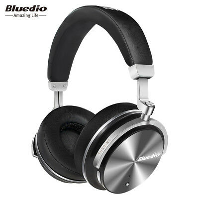 Bluedio T4S Active Noise Cancelling Wireless Bluetooth Over Ear Headphones ANC