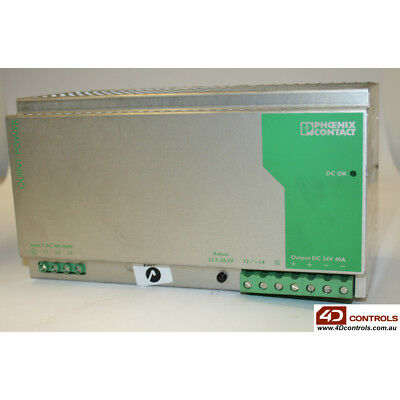 Phoenix Contact QUINT-PS-3X400-500AC/24DC/40 PSU 2.8/2.3AMP 3PHASE - Used