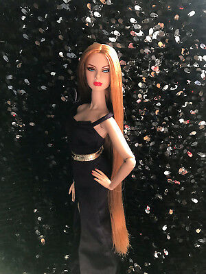 Integrity Toys Fashion Royalty Agnes von Weiss Reroot Nude OOAK