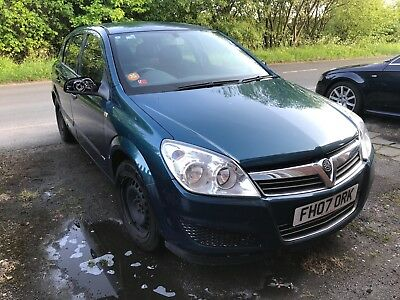 2007 Vauxhall Astra Life 1.6 5dr Manual Petrol for Spares or Repair