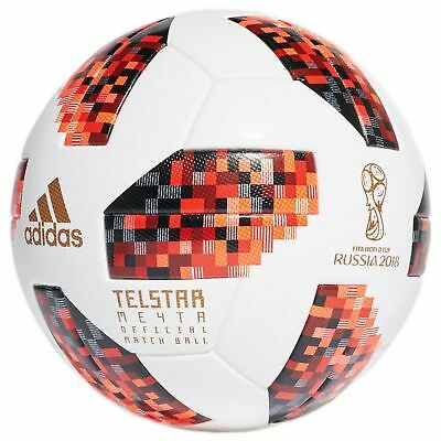Adidas Telstar Red Russia World Cup 2018 - Knockout Official Soccer Match Ball