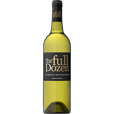 RRP$189! The Full Dozen Semilon Sauvigon Blanc White Wine (12x750ml)