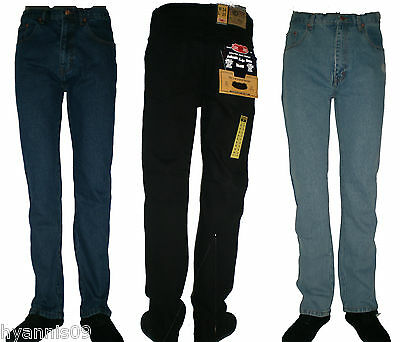 "Mens 25""Jeans  Inside Leg Length Jeans Extra Short Heavy Duty Work/Casual 28/50"