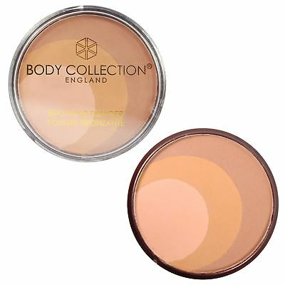 Body Collection Bronzing Pressed Powder Multi Tone Face Bronzer Contouring
