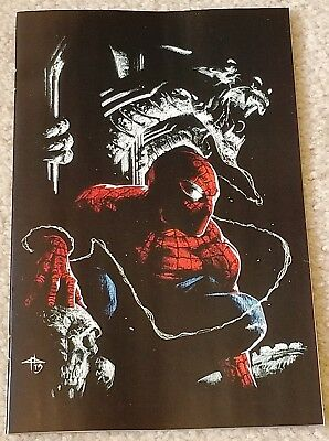 Amazing Spider-Man 801 Gabrielle Dell Otto Virgin Art Variant 1000 Print Run Wow
