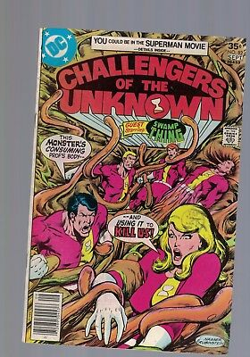 DC Comics  CHALLENGERS OF THE UNKNOWN COMIC No. 82 September 1977 35c USA