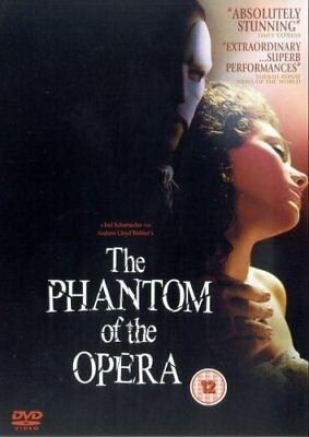 The Phantom Of The Opera [DVD] [2004] Gerard Butler New Sealed