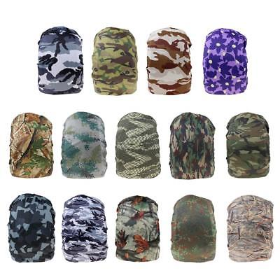 Camo Waterproof Backpack Rucksack Cover Anti-theft Raincover Cycling Running