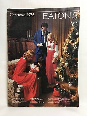 Eaton's Christmas 1975 Catalogue Canada