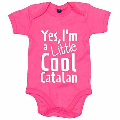 Body bebé yes I Am A Little Cool Catalan