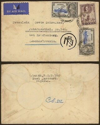 Nigeria - Air mail cover to Czechoslovakia 29599