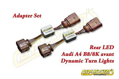 Audi A4 S4 RS4 B8 - Avant Combi 2x Dynamischer LED Blinker Dynamic LED Plug&play