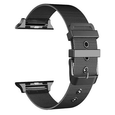 Milanese Buckle Loop Strap Watch Band For Apple Watch 38/42mm Series 1/2/3
