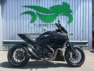 Ducati Diavel 2014 '64' ** CAMPBELL CUSTOM EXHAUSTS - 8863 MILES **