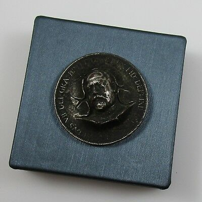 Repousse Pop-Out Coin British 1903 Edward VII Pendant One Penny