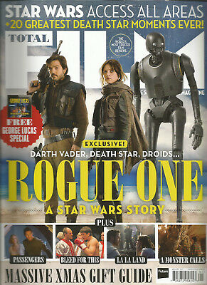 Total Film Magazine Uk January 2017 #253 Star Wars Access All Areas