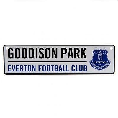 Everton Metal Window Street Sign Goodison Park Gift Official Licensed Football