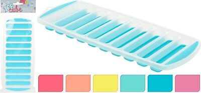 Pack of 2 Ice Cube Finger Trays Water Bottle Ice Sticks Tray Party Ice Mould