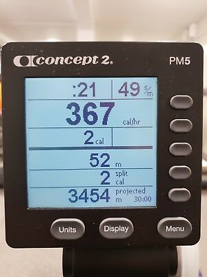 Concept 2 PM5 Monitor ( Brand New in Original Box)