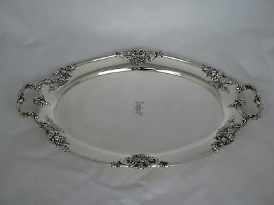 Vintage Reed & Barton Sterling Silver Francis I 570A Medium Tray with Handles