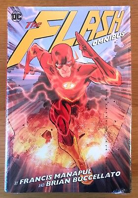New Sealed The Flash Omnibus By Francis Manapul And Brian Buccellato Dc Marvel