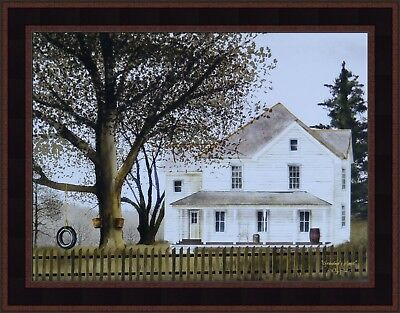 Art Print Plaque By Billy Jacobs Framed BJ315 Let Us Be Silent
