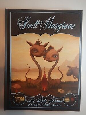 Scott Musgrove The Late Fauna Of Early North America Hard Cover Book